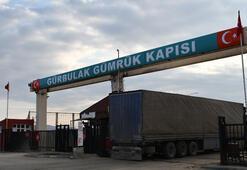 Türkiyenin İran kararı sonrası bugün Gürbulak Sınır Kapısı...