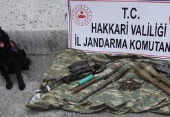 Çukurcada PKKnın silah ve mühimmatı ele geçirildi