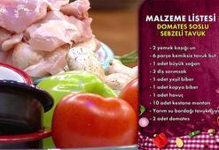 Domates Soslu Sebzeli Tavuk malzemleri | Domates Soslu Sebzeli Tavuk tarifi ve yapılışı