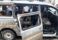 Son dakika haberleri   El Babda bomba yüklü araç patladı: 1 yaralı