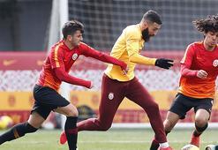 Derbi galibi Galatasaray çalışmalara ara vermedi