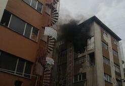 Son dakika Güngörende patlama sonrası yangın