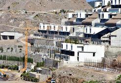 200 milyon dolarlık projenin kaçak bölümleri yıkıldı
