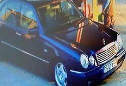 Kayıp 3 liseli kızın otostopla bindiği otomobil kameraya yansıdı