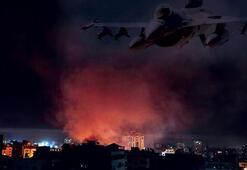 İsrail savaş uçakları Gazzeyi vurmaya devam ediyor