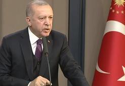 Cumhurbaşkanı Erdoğan sorulan soruya tepki gösterdi