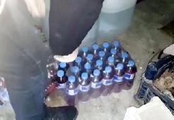Gaziantepte sahte içkiye 2 gözaltı