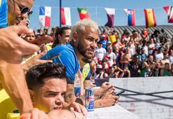 Türk futbolseverlere Neymar ile Brezilyada tanışma şansı