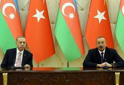 Son dakika... Cumhurbaşkanı Erdoğan ve Aliyevden ortak basın toplantısı