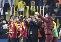 Galatasaraylı yıldız, derbi zaferini koluna kazıttı