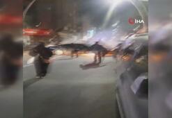 Polis sürücüyü linçten zor kurtardı