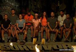 Survivorda kim elendi Survivorda bu hafta adaya hangi isim veda etti İşte elenen isim...