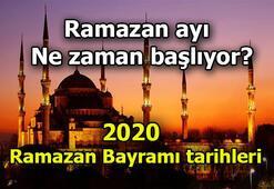 Ramazan ayı 2020 ne zaman başlıyor Ramazan Bayramı tarihleri belli oldu