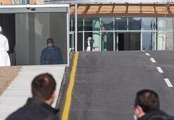 132 yolcu için karantina süreci başladı İşte ilk görüntüler