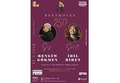 Avrasya Filarmoniden Beethovenin 250. doğum yılı konseri