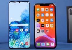 Samsung Galaxy S20 Ultra ve iPhone 11 Pro Max karşı karşıya