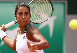 Milli tenisçi Çağla Büyükakçay, Katar Açıka çeyrek finalde veda  etti