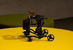 Kas hastası çocuklar için mobil yürüme robotu tasarladılar