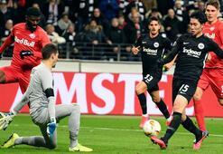 UEFA Avrupa Liginde kötü hava koşulları nedeniyle bir maç ertelendi