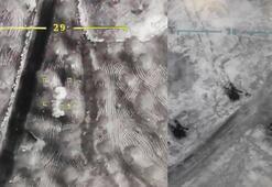 İdlibdeki operasyondan son görüntüler Böyle vuruldular...