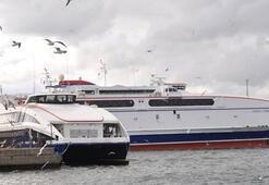Deniz ulaşımında aksama Seferler iptal edildi