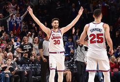 Furkan Korkmazlı Philadelphia 76ers, New York Knicksi 115-106 mağlup etti