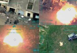 Son dakika | TSK rejim hedeflerine bomba yağdırıyor İdlibden yeni görüntüler...