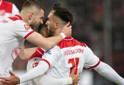 Kenan Karamanın 2 gol attığı maçta Düsseldorf bir puanla yetindi