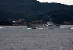 Rus savaş gemisi Orsk Akdenize iniyor