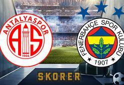 Antalyaspor Fenerbahçe maçı ne zaman, saat kaçta, hangi kanalda