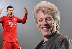 Bayernli futbolcular Bon Joviye yakalandı