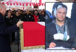 Cumhurbaşkanı Erdoğandan şehit cenazesinde net mesaj: Mücadelemize devam edeceğiz