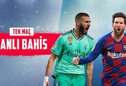 Real Madrid - Barcelona maçı canlı bahisle Misli.comda