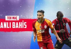 Galatasaray - Gençlerbirliği maçı canlı bahisle Misli.comda