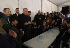 Son dakika | Cumhurbaşkanı Erdoğandan şehit ailesine taziye ziyareti