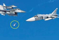 İki SU-24 uçağı düşürüldü