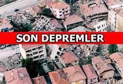 Deprem mi oldu En son nerede, kaç şiddetinde deprem oldu İşte Son depremler listesi (2 Mart)