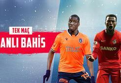 Medipol Başakşehir-Gaziantep FK maçı canlı bahisle Misli.comda...