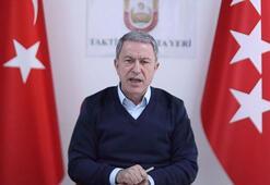 Son dakika haberi: Bakan Akar açıkladı Bahar Kalkanı Harekatında 2 bin 557 rejim unsuru...