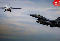Son dakika haberleri | F-16 karanlık bölgeye geçti İşte adım adım SU-24 operasyonu