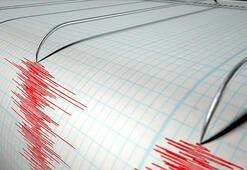 Son dakika haberi... Bingölde korkutan deprem Depremin büyüklüğü...