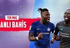 Chelsea-Liverpool maçı canlı bahisle Misli.comda...