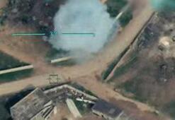 Bahar Kalkanı Harekatından yeni görüntüler Rejim hedefleri böyle vuruluyor