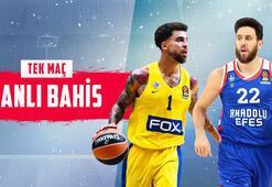 Maccabi Tel Aviv - Anadolu Efes canlı bahis heyecanı Misli.comda