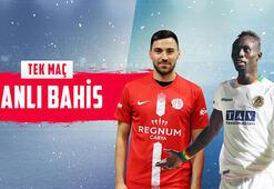 Antalyaspor - Alanyaspor maçı canlı bahis heyecanı Misli.comda
