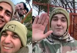 İdlib şehitlerinin helallik istedikleri video ortaya çıktı