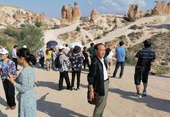 Kapadokyayı 2 ayda 265 bin turist gezdi