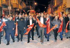 'Vatan ve Bayrak' yürüyüşü