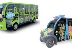 Adalar'a 60 elektrikli araç