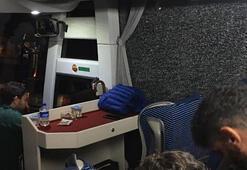 Alanyaspor otobüsüne saldırı İki yaralı...